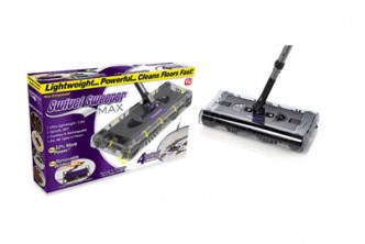 [Swivel Sweeper @ 61% Savings!] B$30.9 instead of B$80 for a unit of Swivel Sweeper Max. Redemption at SD HQ, Anggerek Desa
