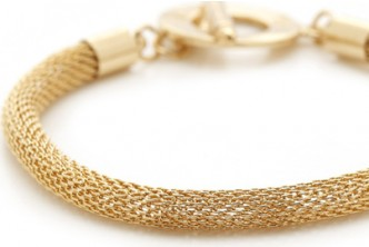 [Gold Toggle Bracelet @ 89% Savings!] B$10 instead of B$149 for a unit of Gold toggle Bracelet. Redemption at SD HQ, Anggerek Desa
